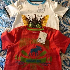 Two 4T Hatley shirts perfect for back to school!